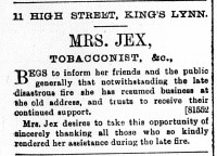 1897 Dec 31st Mrs Jex @ No 11 copy (2)
