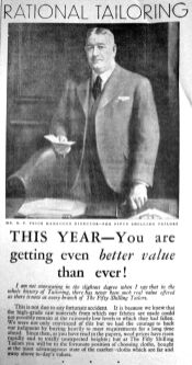 1934 Mar 2nd Fifty Shilling Tailors