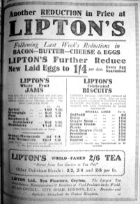 1924 April 11th Liptons