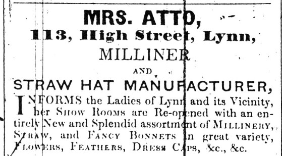 1842 May 10th Mrs Atto