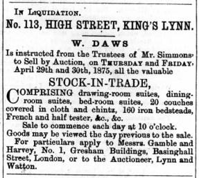 1875 April 24th Simmons liqidation @ 113