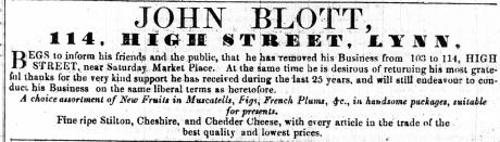 1853 Nov 19th John Blott 103 to 114 - Copy