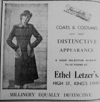 1938 Oct 21st Ethel Letzer