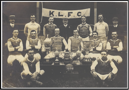 1907-08 Linnetts George Gemmell 5th top row