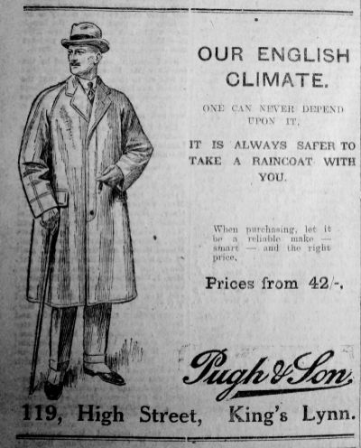 1925 July 31st Pugh & Son