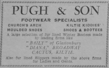 1951 Nov 23rd Pugh & Sons