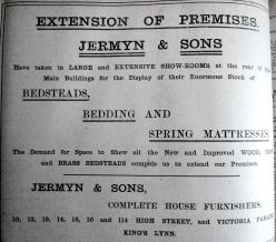 1909 July 9th Jermyns expand