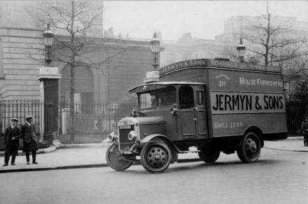 1920 (circa) Jermyn & Sons van