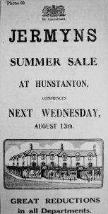 1930 Aug 8th Jermyns @ Hunstanton