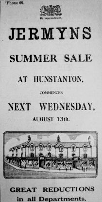 1930 Aug 8th Jermyns @ Hunstanton