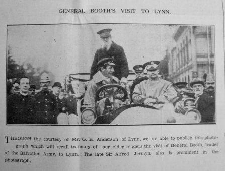 1934 July 27th Sir A Jermyn + Gen Booth