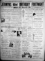 1934 Oct 12th Jermyns 62nd Bday full page