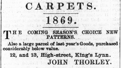 1869 April 10th John Thorley