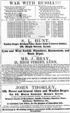 1854 Feb 4th John Thorley @ 12