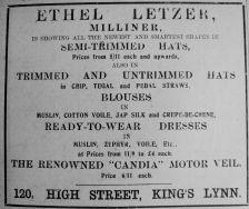 1912 Apr 20th Ethel Letzer