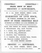 1887 December 10th Smoothy late Gowthorpe @ Nos 121 & 122