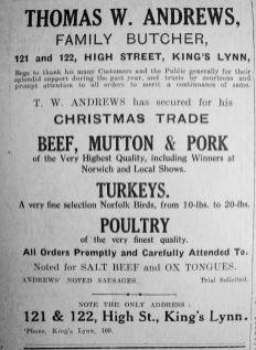 1927 Dec 16th Thomas W Andrews