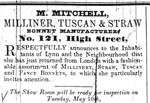 1842 May 10th M MITCHELL
