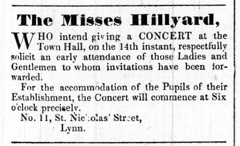 1843 Dec 5th Mrs Hillyard ex No 14