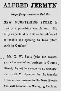 1887 24th Sept Jermyn & Scott