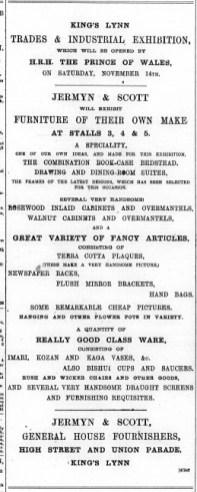 1891 November 14th Jermyn & Scott @ Nos 15 & 16