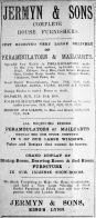 1917 Aug 24th Jermyn & Sons