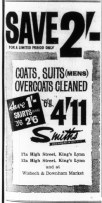 1963 Jan 8th Smiths Cleaners @ Nos 17a & 53a