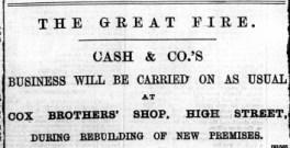 1897 Dec 31st Cash & Co @ No 18