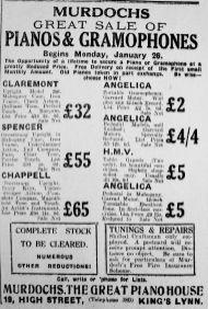 1930 Jan 23rd Murdochs