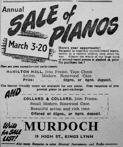 1950 Mar 3rd Murdochs