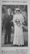 1934 Aug 17th Joan Le Grice wedding