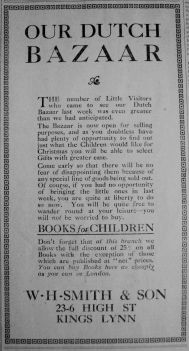 1913 Dec 5th W H Smith