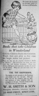 1928 Dec 21st W H Smith