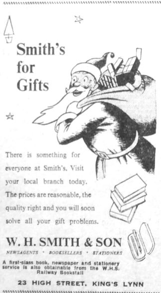 1951 Dec 21st W H Smith & Son