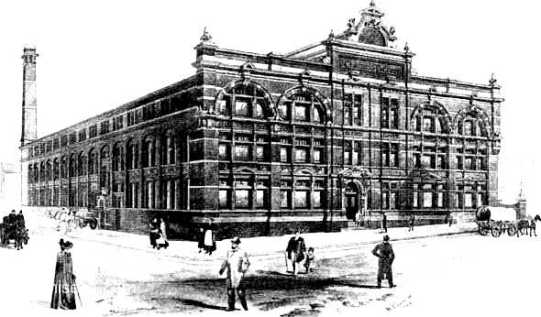 1884 Hepworth & Son clothing factory, Leeds