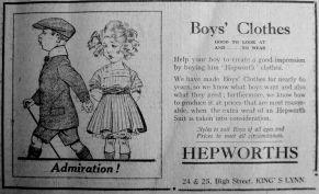 1924 June 20th Hepworths