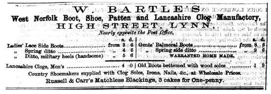 1869 Feb 13th W Bartle