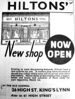 1935 March 1st Hiltons new shopfront