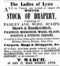 1853 Dec 17th T March @ Nos 36 & 37