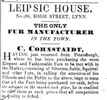 1845 Oct 11th C Cohnstaidt