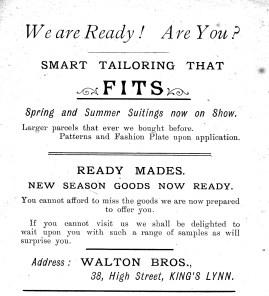 1904 Mar 16&17 Stepney Baptist Bazaar