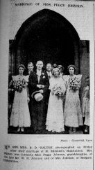 1933 Sept 8th Marriage J B D Walton