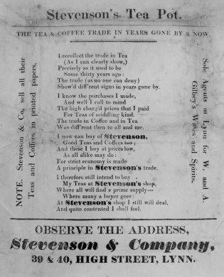 1860s Stevenson @ No 39 & 40 (Ashley Bunkall)