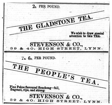 1873 March 1st Stevenson & Co