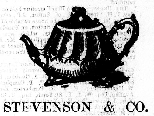 1875 Sept 11th Stevenson & Co