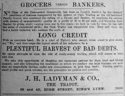 1890 Apr 5th Ladymans