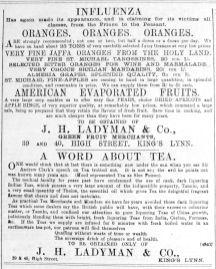 1892 Jan 30th Ladymans