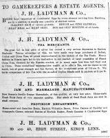 1892 June 11th Ladymans