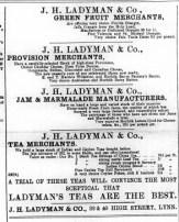 1893 Jan 21st Ladymans @ Nos 39 & 40