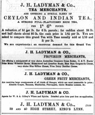 1896 Jan 18 Ladymans @ Nos 39 & 40